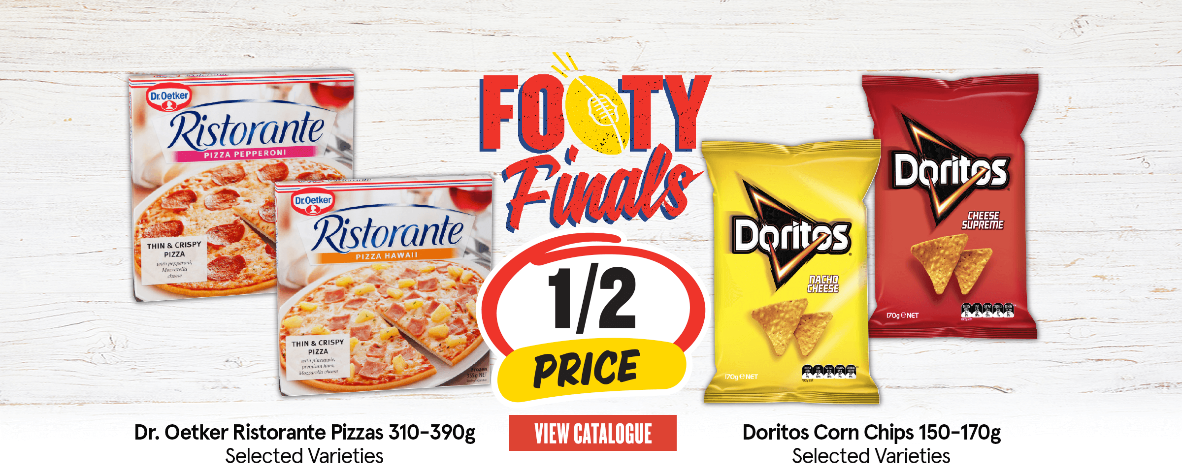 This weeks half price specials!